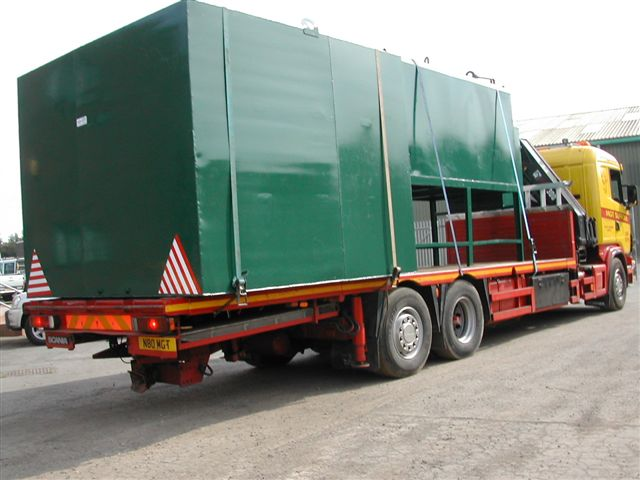 120,000 Litres Mild Steel Fully Bunded Storage Tank